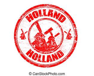 hollande, timbre