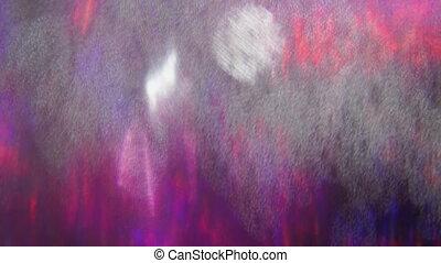holographic, coloré, dynamique, nostalgique, arrière-plan., iridescent, branché