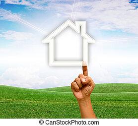 home., hand-built