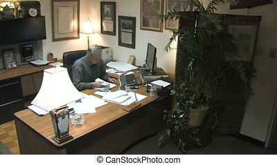 homme affaires 2, bureau