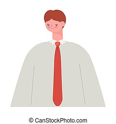 homme, cravate