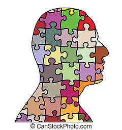 homme, puzzle