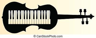 honkeytonk, violon