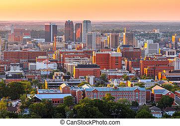 horizon, alabama, usa, en ville, ville, birmingham