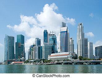 horizon, district financier, singapour