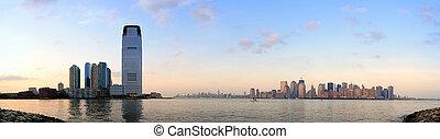 horizon ville, panorama