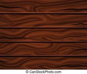 horizontal, bois, planches, fond