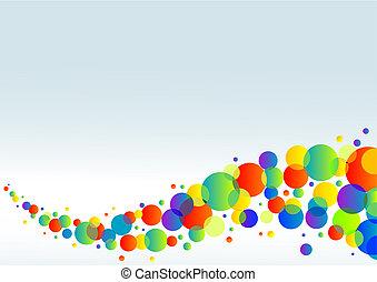 horizontal, coloré, fond