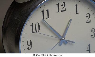 horloge, closeup, figure