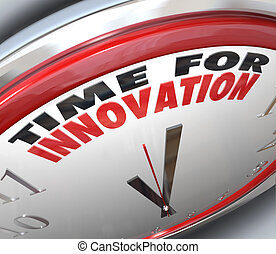 horloge, innovation, idées, temps, besoin, changement