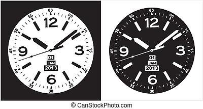 horloge, montre