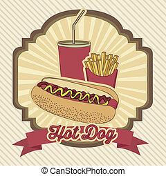 hot-dog, vendange