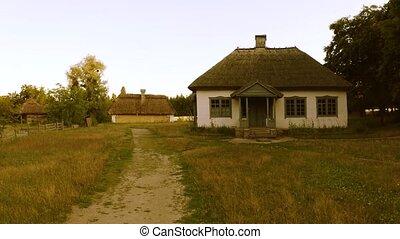 house., hutte, rural, ancien