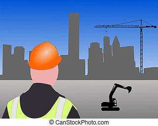 houston, site construction