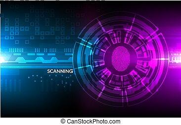 hud, graphique, disposition, set., moderne, screen., virtuel, radar, infographic, ui, utilisateur, gabarit, interface, données, element.