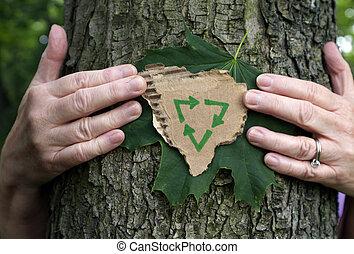 hugger arbre