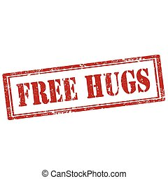 hugs-stamp, gratuite