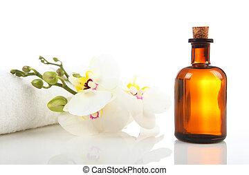 huile aromatique, masage