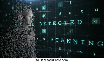 humain, informatique, corps