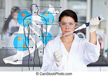 humain, interface, chimiste, fonctionnement, adn, sérieux