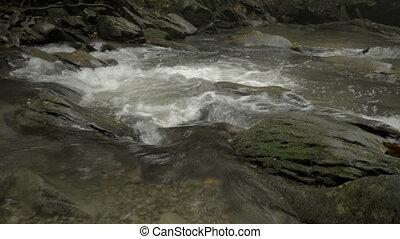 hylaty, montagne, rivière, bieszczady.