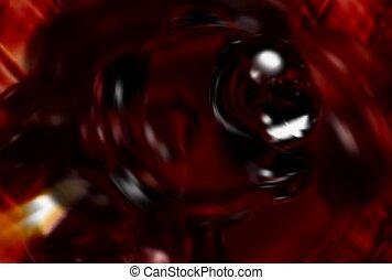 hyper, sombre, rouges