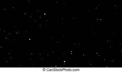 hyperspace, étoiles, voyager, voler, espace, boucle, par, noir, arrière-plan.