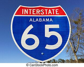i-65, signe, alabama, autoroute
