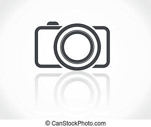 icône, appareil photo
