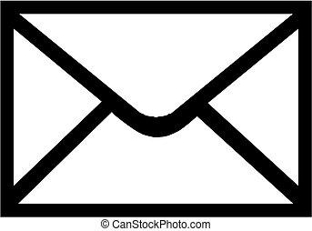 icône, enveloppe