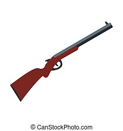 icône, fusil chasse, chasse
