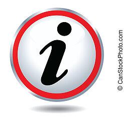 icône, information