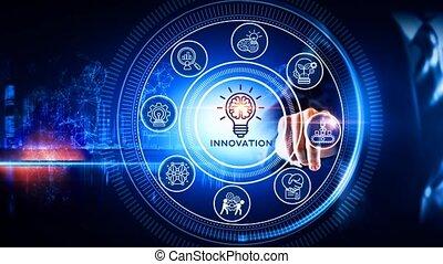 icône, innovation, concept