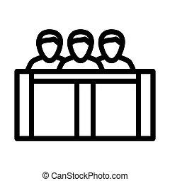 icône, jury