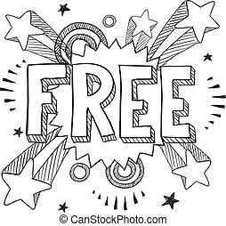 icône, pop, fond, gratuite