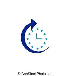icône, temps