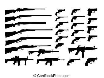 icônes, armes