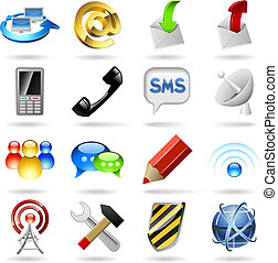 icônes, communication