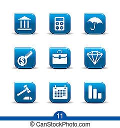 icônes, finance, no.11..smooth, série