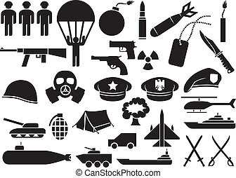 icônes, militaire