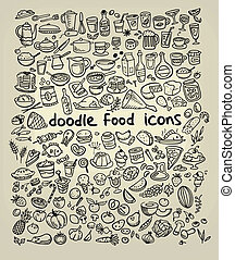 icônes nourriture