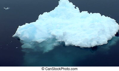 icebergs, antarctique