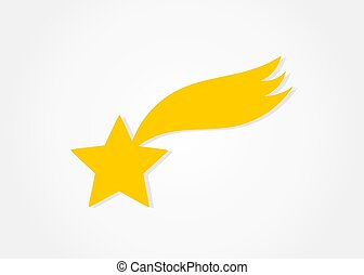 icon., étoile filante