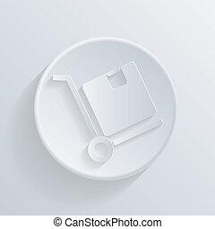 icon., box., camion, logistique