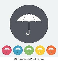 icon., parapluie