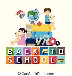 idea., conception, dos, école, education