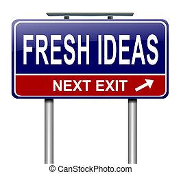 ideas., frais