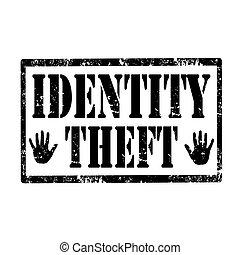 identité, theft-stamp