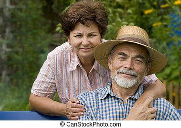 ii, couples aînés, romantique