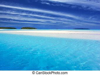 ii, turquoise, lagune